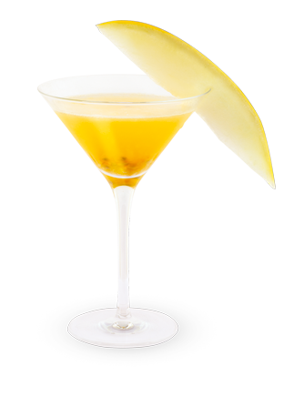 Pear Brandy Martini